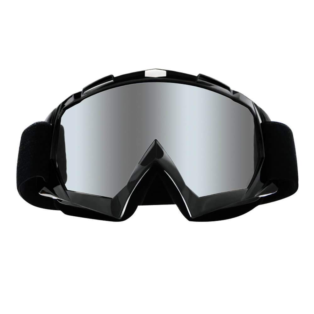Dirt Bike Goggles Motocross Goggles Windproof Dustproof Scratch Resistant Ski Goggles Protective Safety Glasses PU Resin