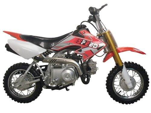 Dirt bike 70cc Semi Automatic motorbike kids
