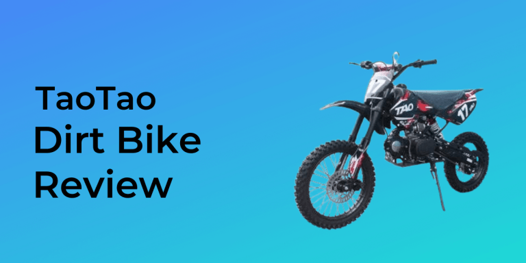 tao dirt bike review 2020