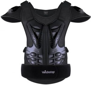 Webetop Adults Dirt Bike Body Chest Spine Protector Armor Vest