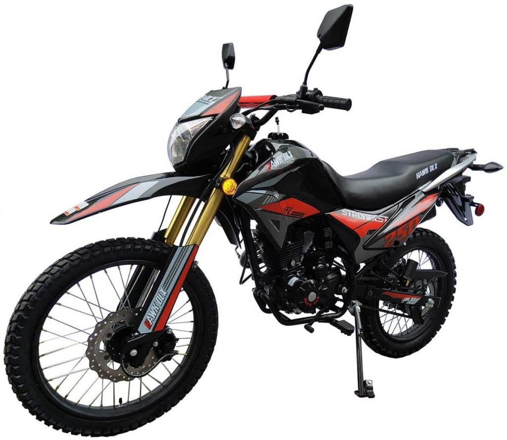 x-pro hawk dlx 250cc efi dirt bike review