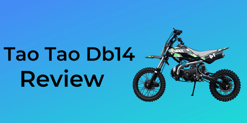tao tao db14 110cc dirt bike review 2020